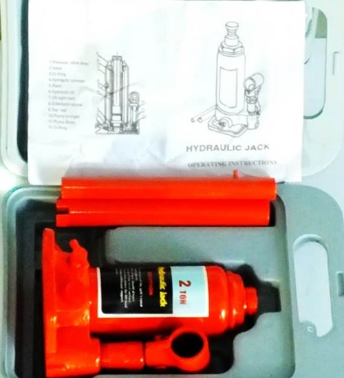 Hydraulic Car Bottle Jack 2